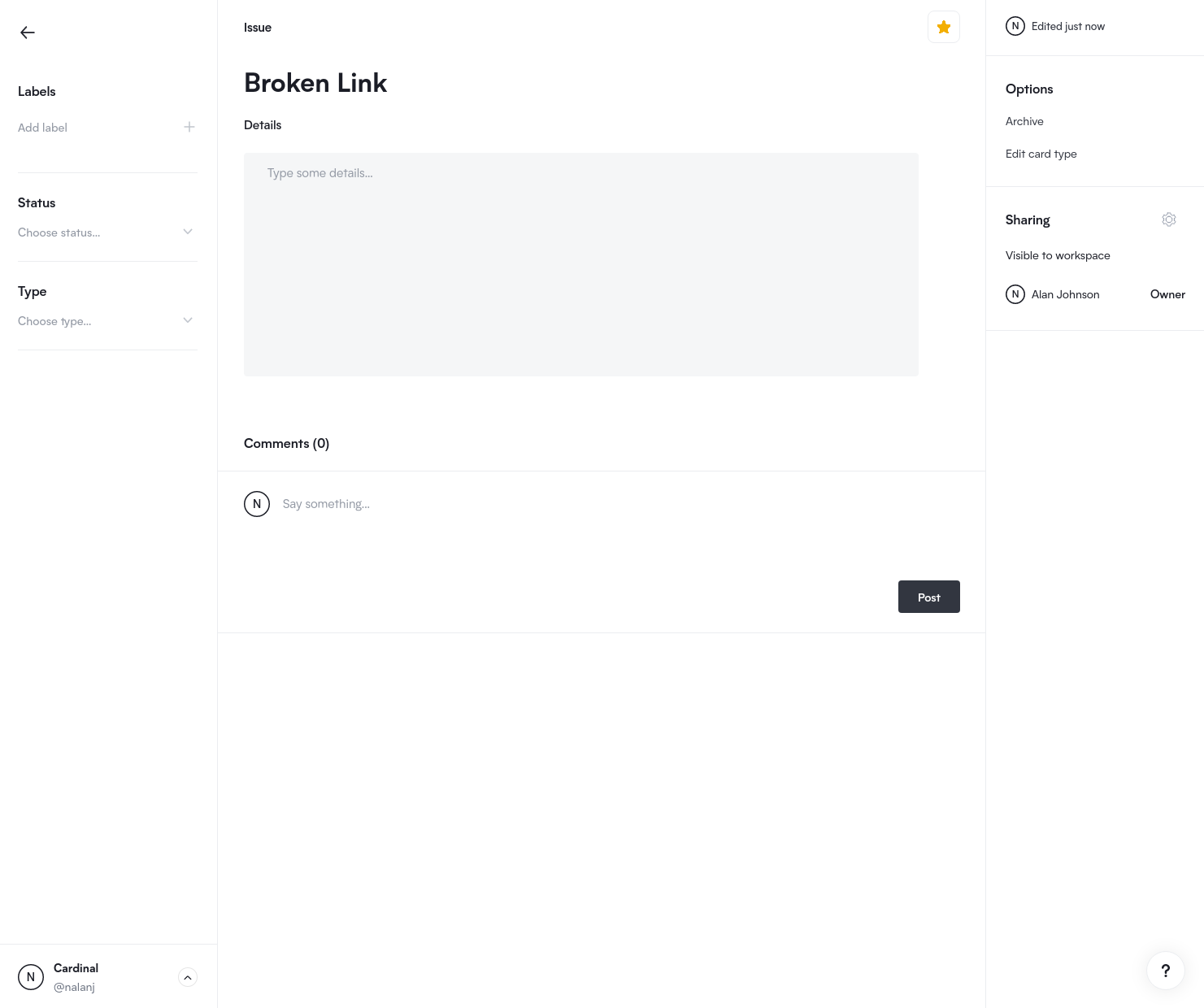 Properties Screenshot